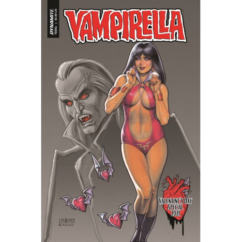 VAMPIRELLA VALENTINES SP ONE SHOT CVR A LINSNER (VO)