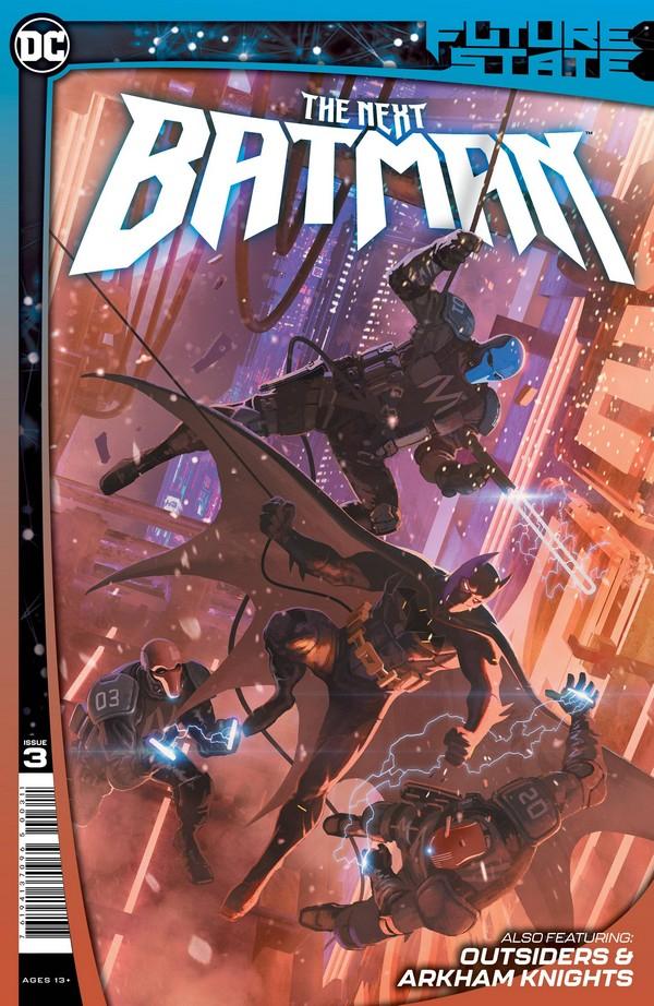 FUTURE STATE THE NEXT BATMAN 3 (OF 4) CVR A LADRONN (VO)