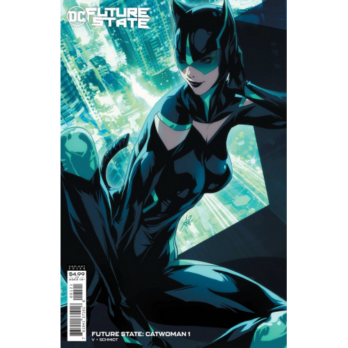FUTURE STATE CATWOMAN 1 CARD STOCK VAR ED (VO)