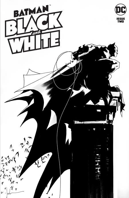 BATMAN BLACK AND WHITE 2 (OF 6) CVR A JOCK (VO)