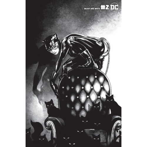BATMAN BLACK AND WHITE 2 (OF 6) CVR C KAMOME SHIRAHAMA CATWOMAN VAR (VO)