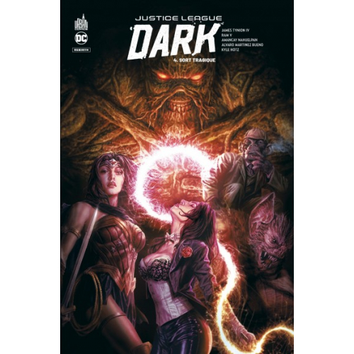 Justice League Dark Rebirth Tome 4 (VF)
