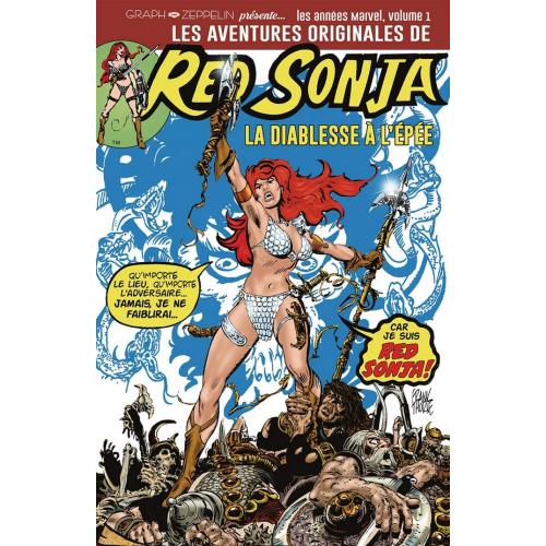 Les aventures originales de red sonja Volume 1 (VF) la diablesse à l'épée