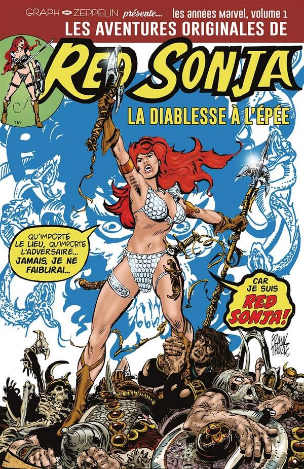Les aventures originales de red sonja Volume 1 (VF)