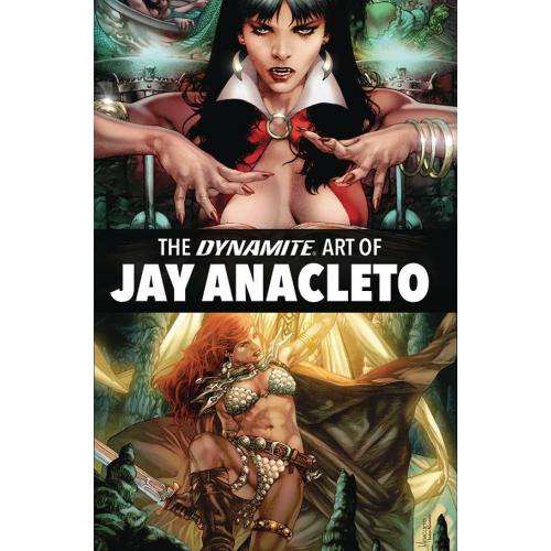 DYNAMITE ART OF JAY ANACLETO HC (VO)