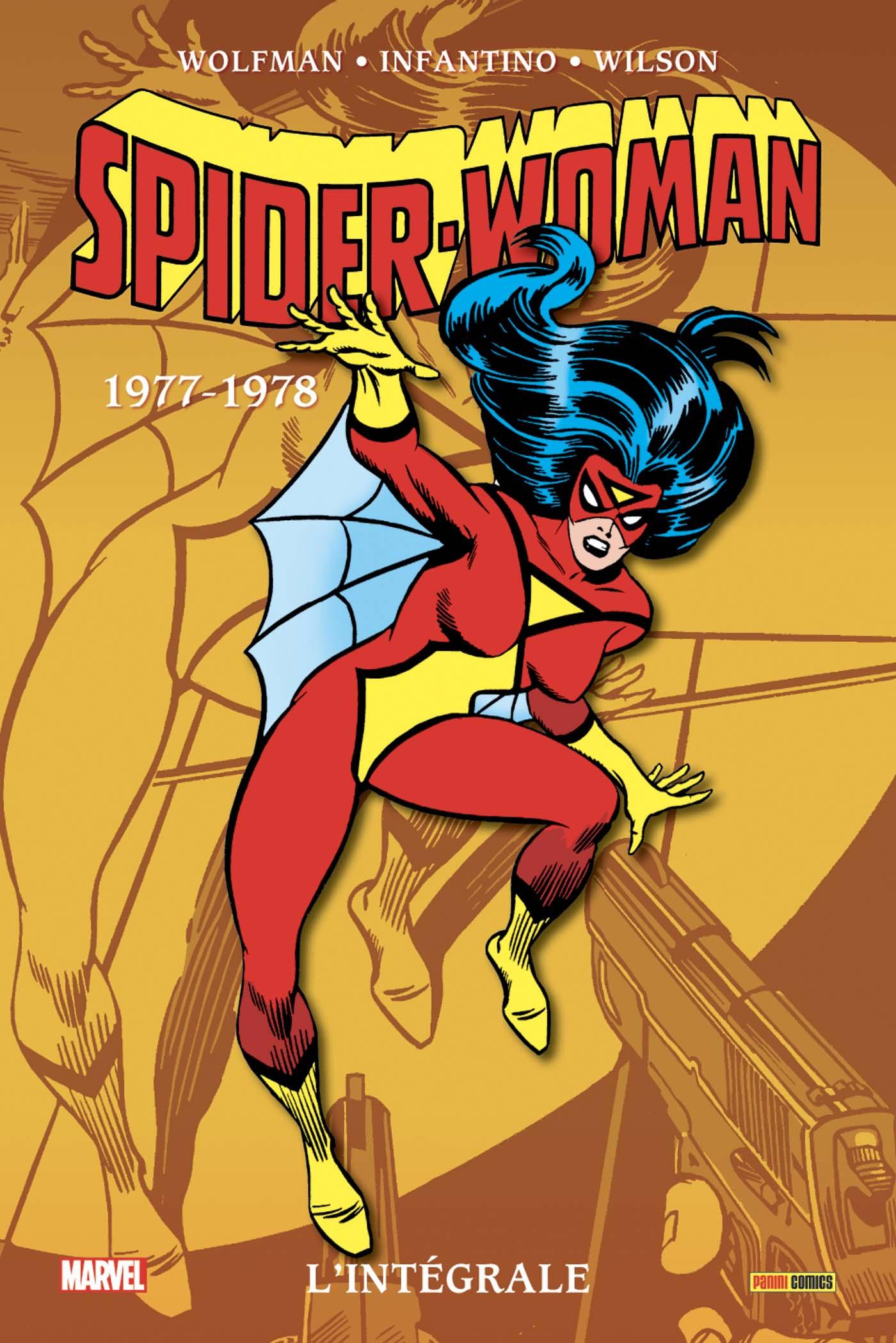 Spider-Woman : L'intégrale 1977-1978 (VF)