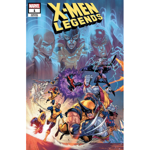 X-MEN LEGENDS 1 COELLO CONNECTED VAR (VO) Fabian Nicieza - Brett Booth