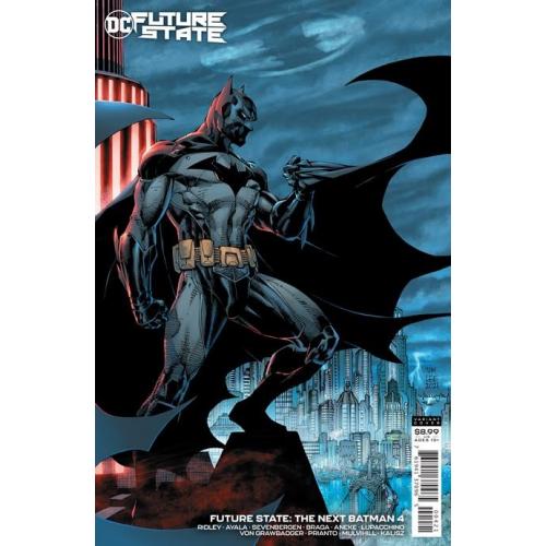 FUTURE STATE THE NEXT BATMAN 4 (OF 4) CVR B JIM LEE & SCOTT WILLIAMS CARD STOCK VAR (VO)