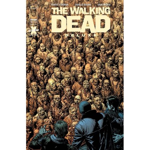 WALKING DEAD DELUXE 9 CVR A FINCH & MCCAIG (VO)
