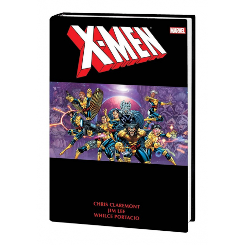 X-MEN BY CHRIS CLAREMONT & JIM LEE OMNIBUS HC VOL 02 DM VAR (VO)