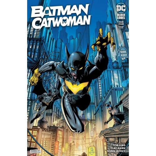 BATMAN CATWOMAN 4 (OF 12) CVR B JIM LEE & SCOTT WILLIAMS VAR (VO)