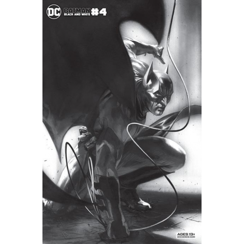 BATMAN BLACK AND WHITE 4 (OF 6) CVR B GABRIELE DELL OTTO VAR (VO)