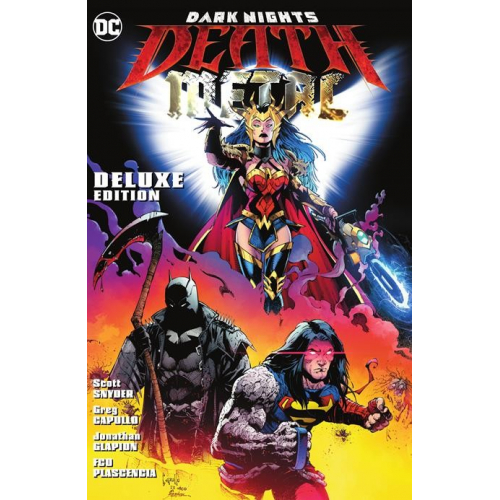 DARK NIGHTS DEATH METAL DELUXE EDITION HC (VO)
