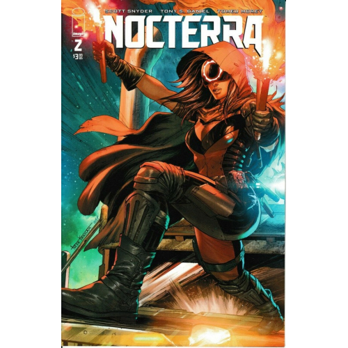 NOCTERRA 2 COVER ZA OVERSHIP VARIANT (VO) SCOTT SNYDER - TONY DANIEL