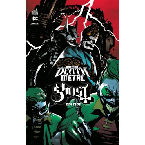 Batman Death Metal 2 Ghost Édition Tome 2 /Édition Speciale Limitée (VF)