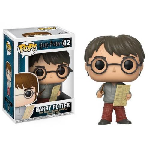 Funko Pop Harry Potter POP! Movies Vinyl figurine Harry Potter with Marauders Map 42
