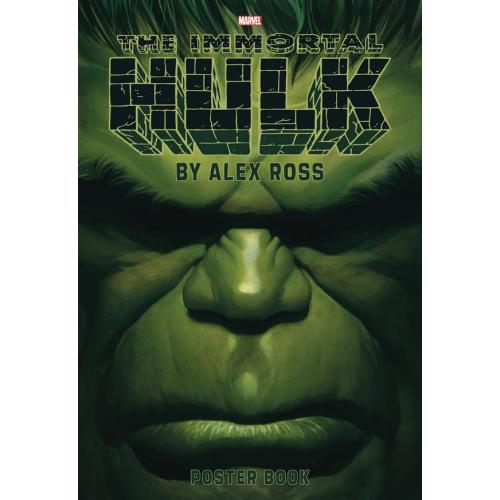 IMMORTAL HULK BY ALEX ROSS POSTER BOOK TP (VO)