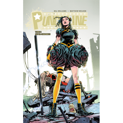 PUNCHLINE tome 2 EDITION EXCLUSIVE 150 ex (VF)