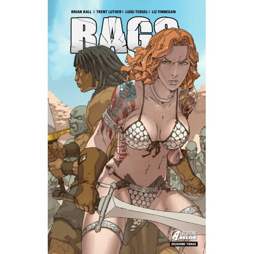 RAGS tome 2 - Second tirage - Edition Exclusive - 150 ex (VF)