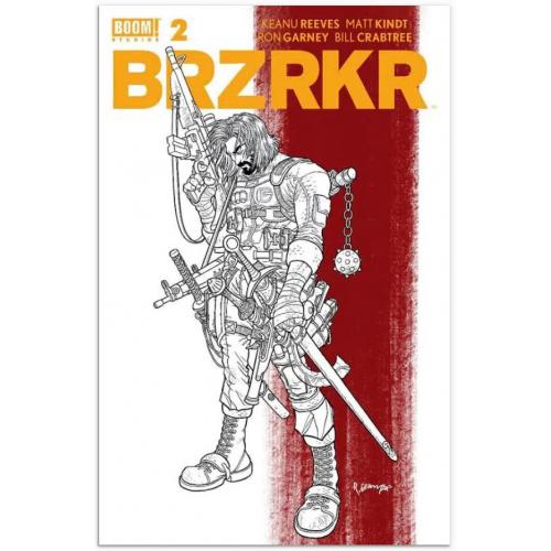 BRZRKR (BERZERKER) 2 Grampa Secret Rouge Rayure variant(VO)