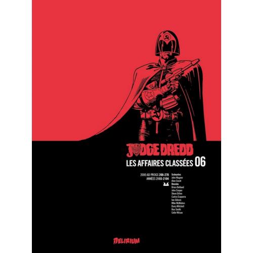 Judge Dredd : Les affaires classées Tome 6 (VF)