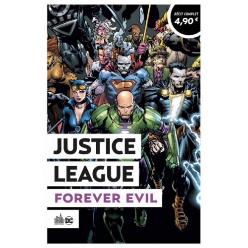 JUSTICE LEAGUE FOREVER EVIL - OPÉRATION ÉTÉ URBAN A 4.90€ (VF)
