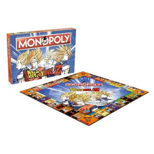 Dragon Ball jeu de plateau Monopoly Français