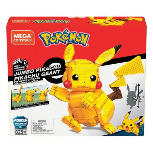 Pokémon jeu de construction Mega Construx Pikachu Géant 33 cm
