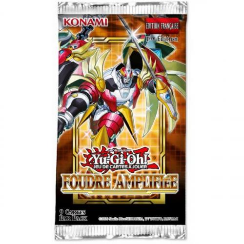 Yu-Gi-Oh Booster Foudre Amplifiée