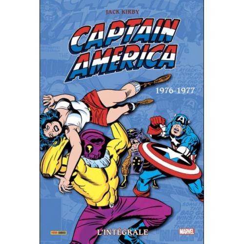 Captain America : L'intégrale 1976-1977 (Tome 11) (VF)