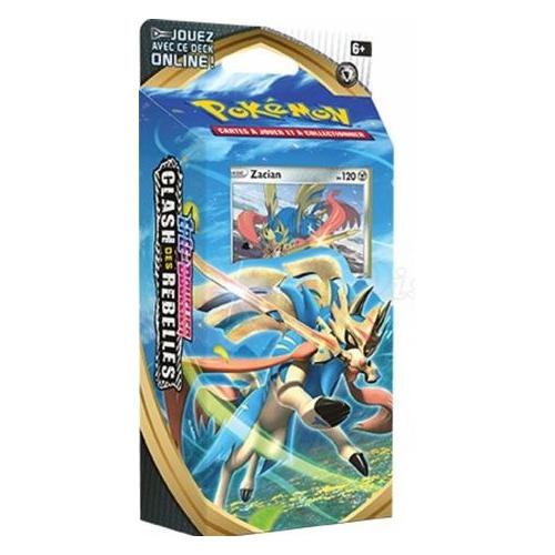 Pokémon Épée et Bouclier Épée et Bouclier Clash des Rebelles Starter- Zacian