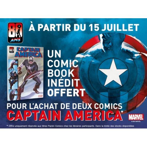 Gratuit : Captain America 80 ans (VF)