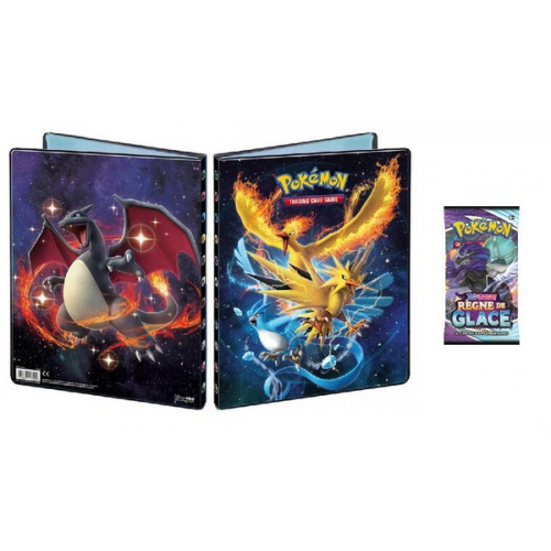 Cahier range cartes + Booster Pokémon