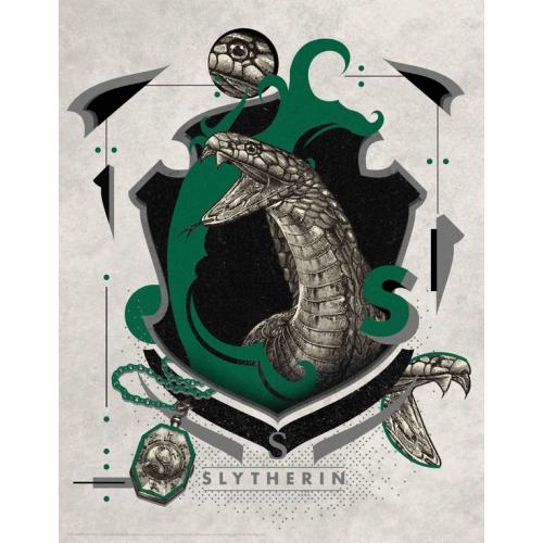 HARRY POTTER - Serpentard - Art Print '36x28'
