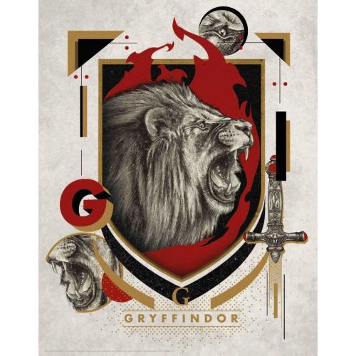 HARRY POTTER - Gryffondor - Art Print '36x28'