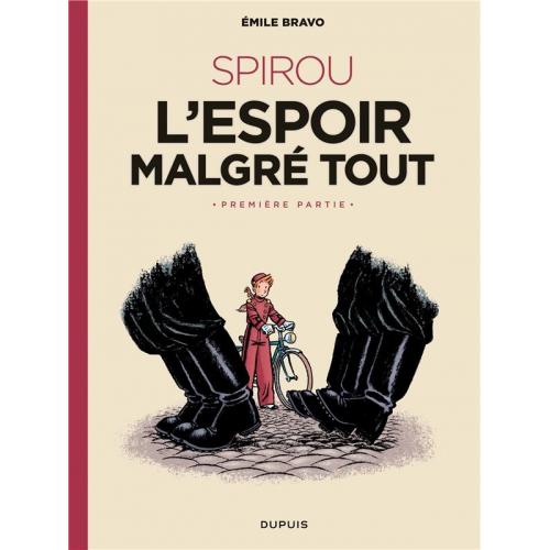Le Spirou d'Emile Bravo Tome 1 - Le journal d'un ingénu (VF)