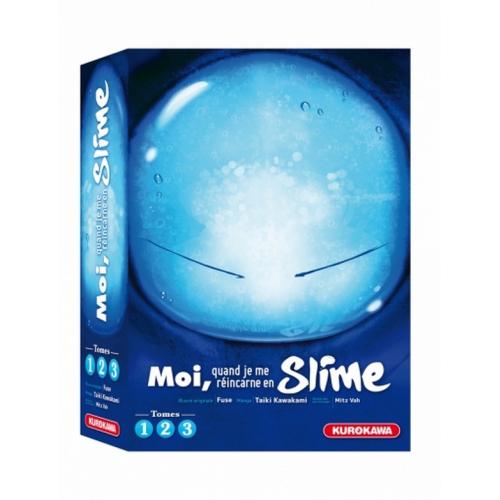 COFFRET - Moi, quand je réincarne en Slime - tomes 1-2-3 (VF)