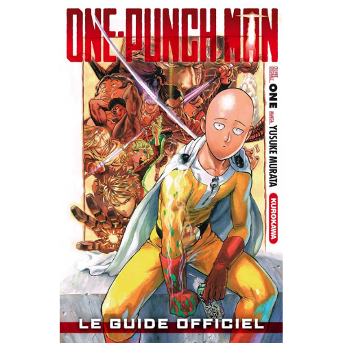 One-Punch Man Le guide officiel (VF)