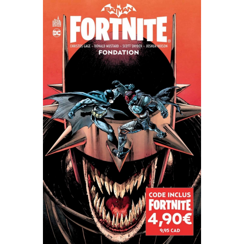 Batman/Fortnite : Fondation (VF)