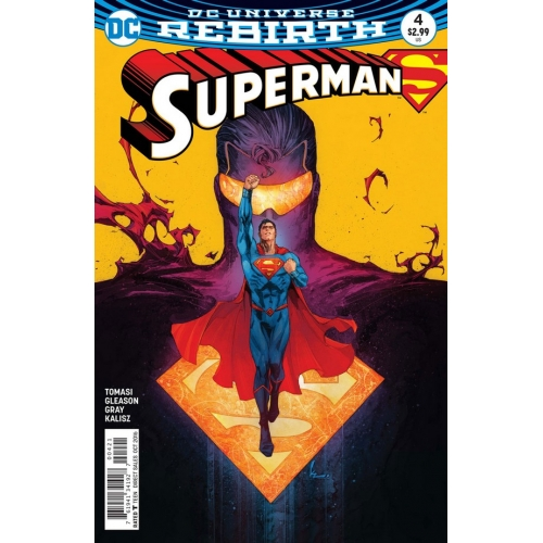 Superman 4 Variant Cover
