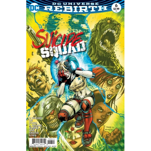 Suicide Squad 6 (VO) Jim Lee
