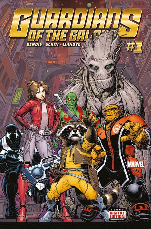 Les Gardiens de la galaxie All new different Tome 1 (VF)