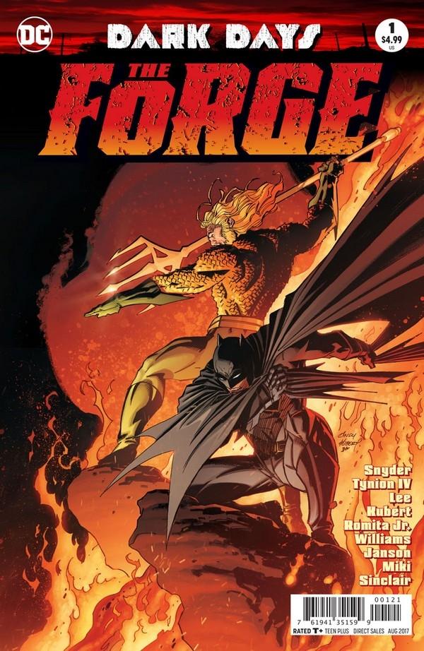 Dark Days : The Forge 1 (VO) Jim Lee - Scott Snyder