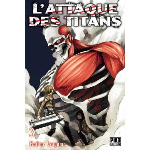 L'attaque des Titans Tome 3 (VF)
