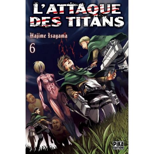 L'attaque des Titans Tome 6 (VF)
