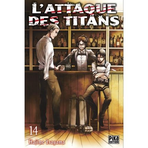 L'attaque des Titans Tome 14 (VF)