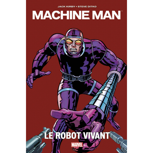 Machine Man par Jack Kirby (VF)