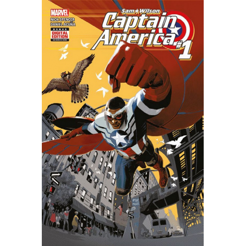 Captain America : Sam Wilson All New All Different Tome 1 (VF)