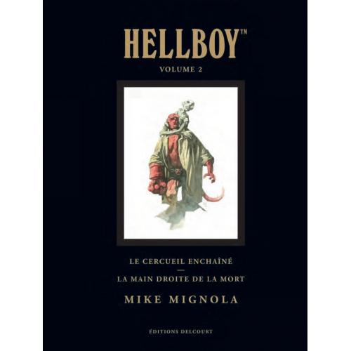 Hellboy Deluxe Vol. 2 : Le cercueil enchaîné - La main droite de la mort (VF)