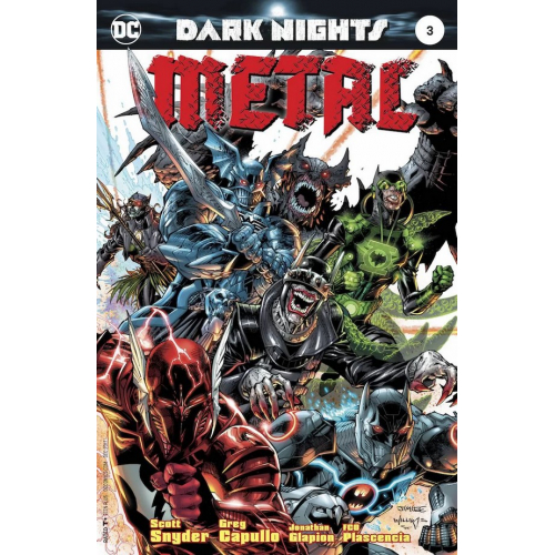 DARK NIGHTS : METAL 3 (VO) JIM LEE VARIANT